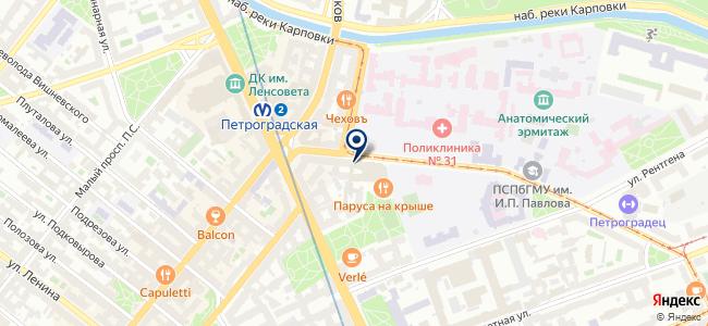 Автоматика-Север, ЗАО на карте