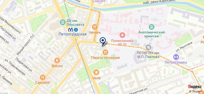 МС-проект на карте