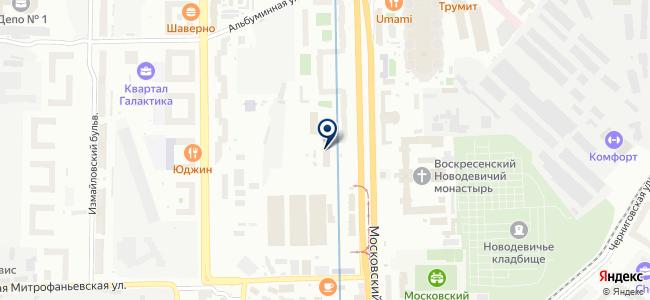 Южноуральский арматурно-изоляторный завод, ОАО на карте