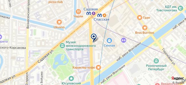 Светлов, ООО на карте