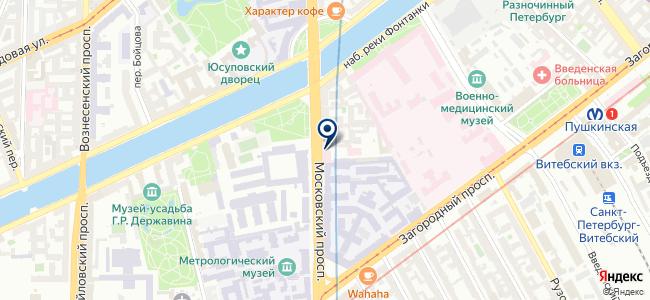 SpbZone на карте