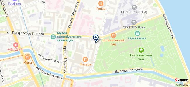 Авитон на карте