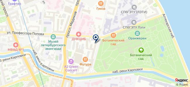 Кандела на карте