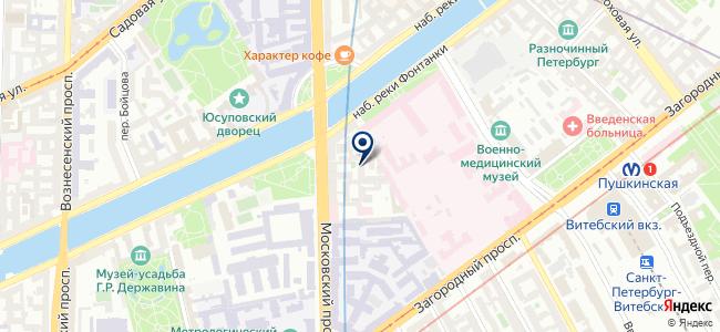 Электроспектр, ООО на карте