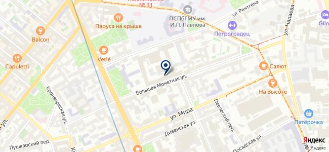 Геодезические приборы, ЗАО на карте