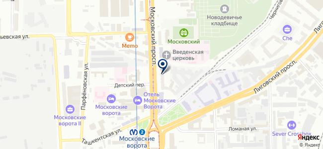 Lampadario на карте