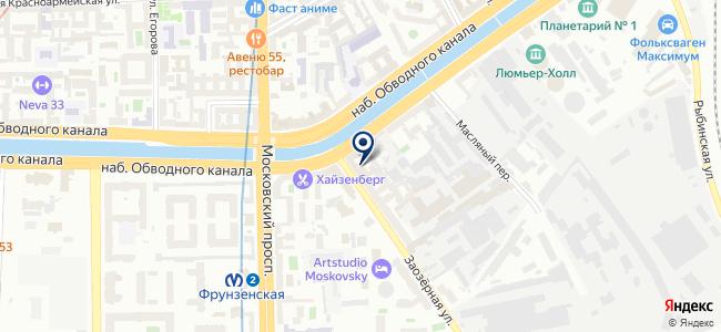 Балтийская Кабельная Компания, ООО на карте