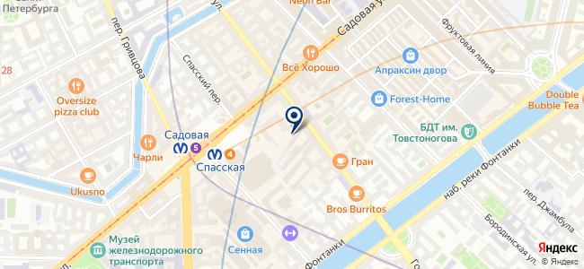 ДОКА Санкт-Петербург, ООО на карте