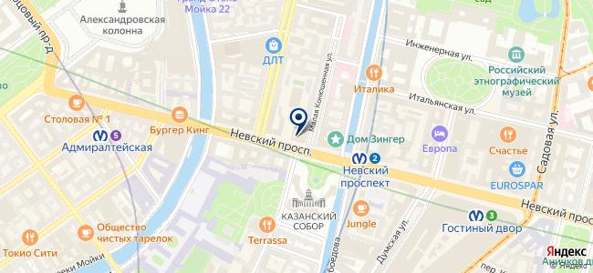 Догма на карте
