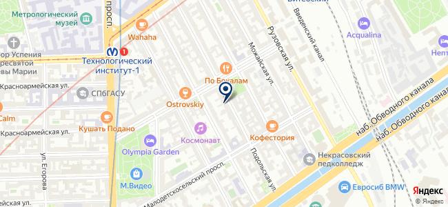 ПромКомплектСервис СПб на карте