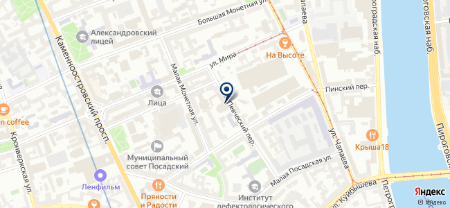 Оптэк на карте