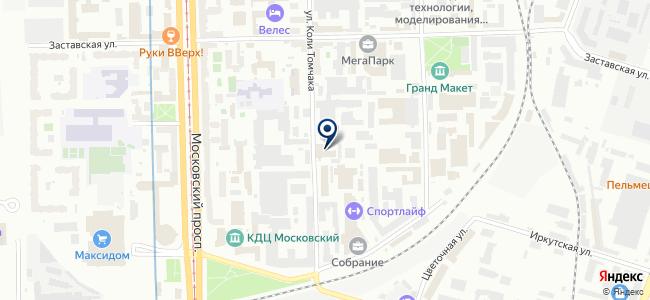 Гепард, ЗАО на карте