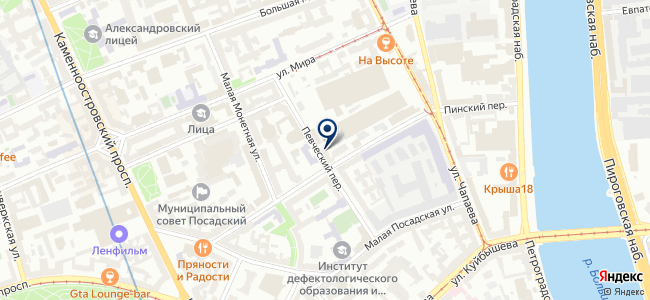 Трест-40 на карте