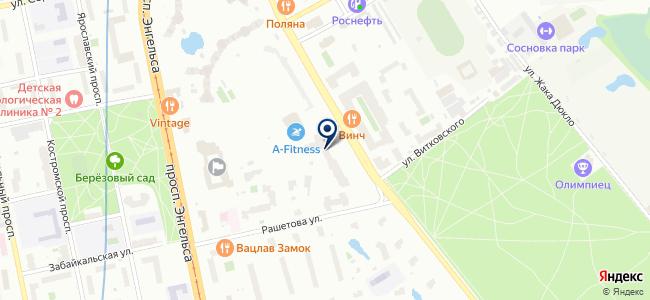 С-П Энергосвязь, ЗАО на карте