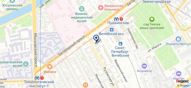Реклама-СПб, ООО на карте