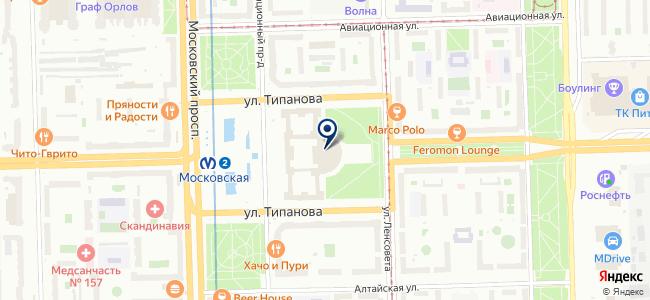 Сервотехника-Нева, ООО на карте