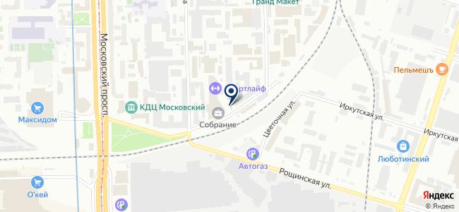 Феррит-Домен на карте