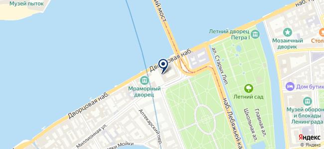 Интерприбор на карте