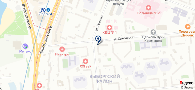 1-я ремонтно-строительная компания, ООО на карте
