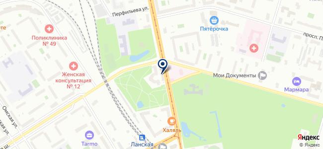 Нордлюкс на карте