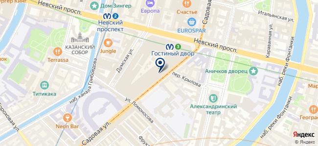 BIMService на карте