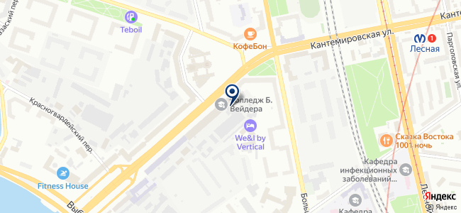 Северная заря, ОАО на карте