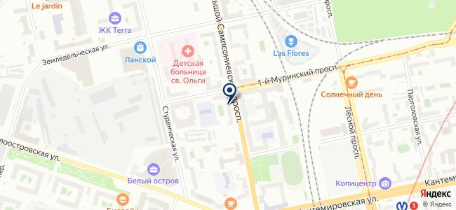 Теплотехника СПб на карте