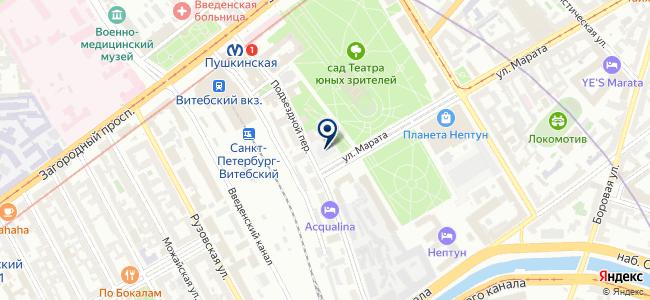 Термит-Норд на карте