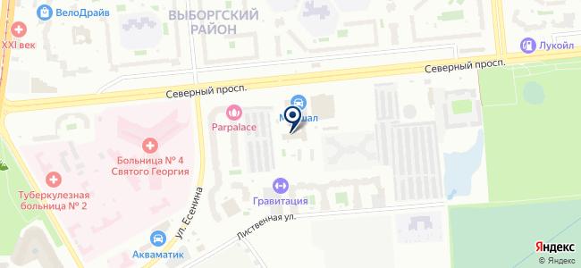 Питер Снаб, ООО на карте
