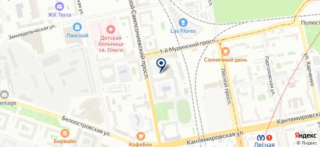 Электростар на карте