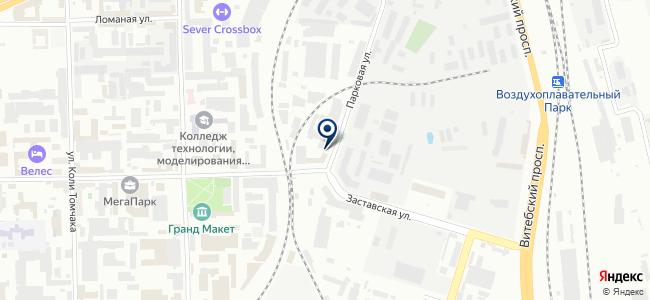 Электро-Балт на карте