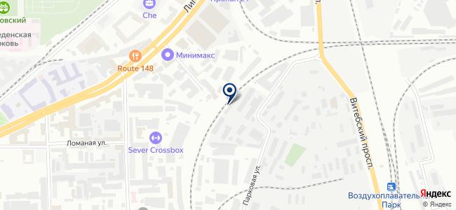Мегавес, ООО на карте