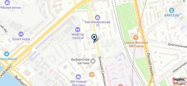Xtile на карте