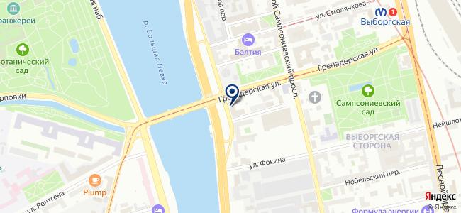 Кронверк на карте