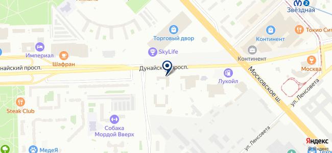 Северо-Западная инвестиционно-строительная компания на карте