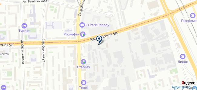 Универсал-Комплект, ООО на карте