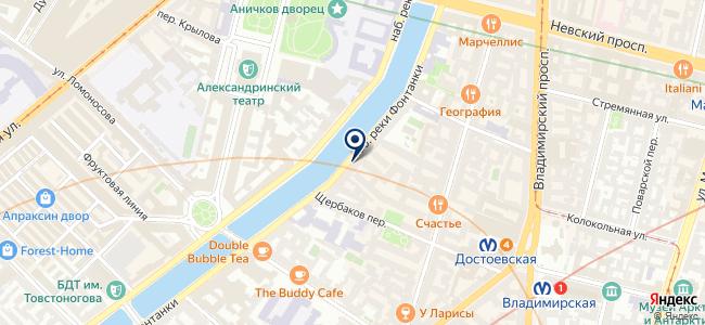 Вилком СПб на карте