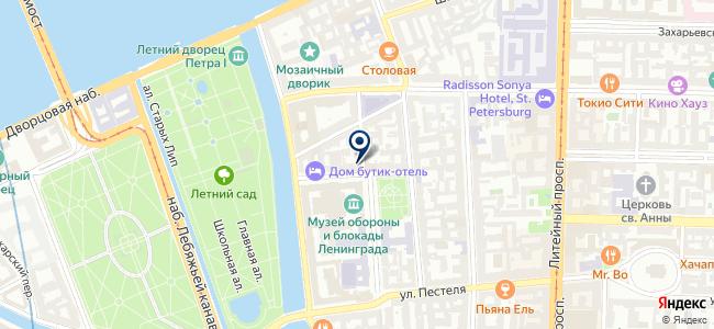 Люменар на карте