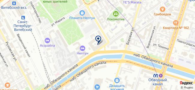 Крептехника, ООО на карте