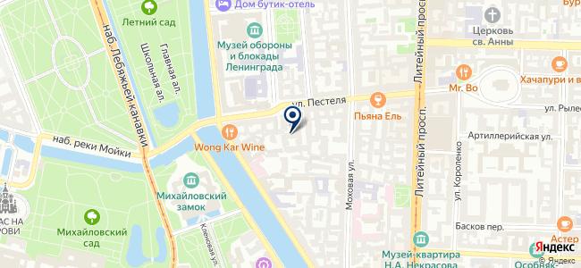 HiTech на карте