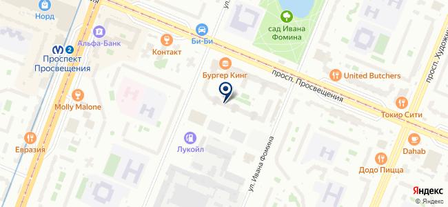 Промэнерго на карте