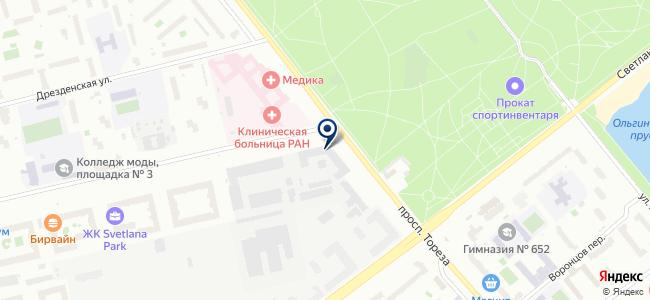 Светодиодные системы освещения, ООО на карте