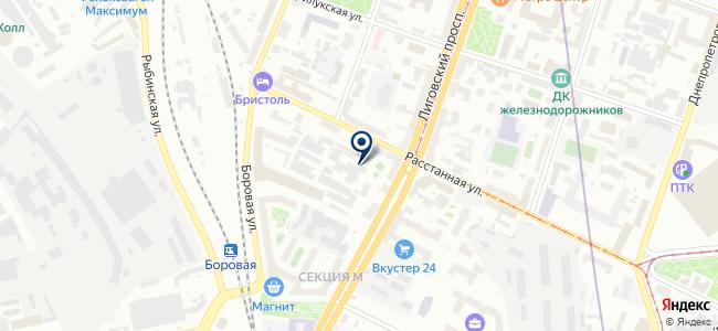 Сервис 220-Вольт, ООО на карте