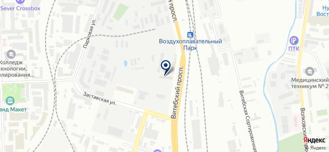 ПетроСвязьКомплект СПб, ООО на карте