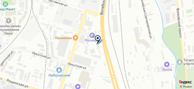 Ледал, ООО на карте