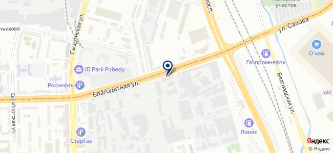 Форум Нева, ЗАО на карте