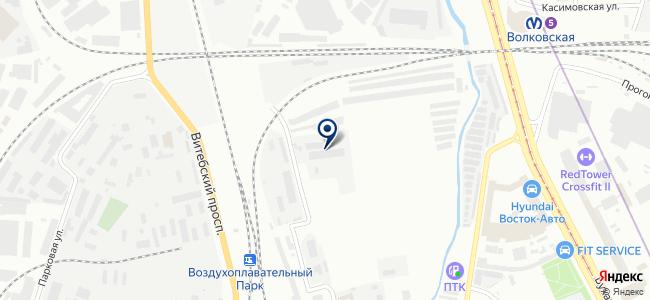 В-Комплект на карте