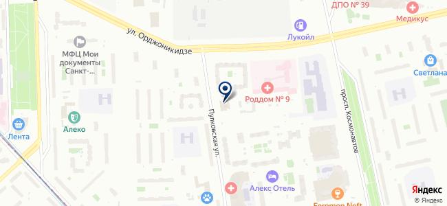 Севконтакт, ООО на карте