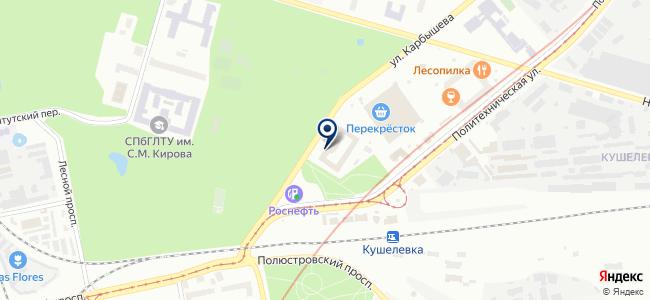 Вела, ЗАО на карте