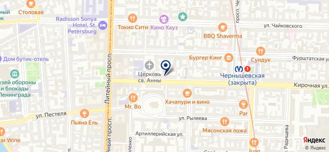 Монтак на карте